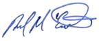 Brad McCormick signature