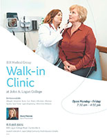 Walk-in Clinic information