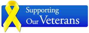 Supporting Our Veterans ribbon