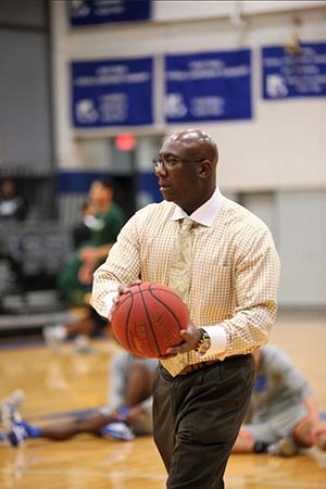 John A. Logan College Assistant Basketball Coach Charlie Jones